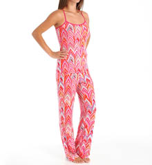 Josie by Natori Sleepwear Magda Printed Modal Cami Pajama Set X96500