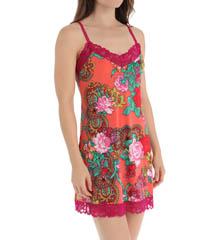Josie by Natori Sleepwear Raya Printed Slinky Jersey Chemise X98280