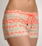 Turned On Shorts with Lace Detail