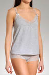Beautiful Dreamer Lace Galloon Cami Boyshort Set
