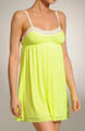 Juicy Couture Contrast Trim Mesh Nightie 9JMS1166