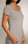 Modal Tee With Lace Detail