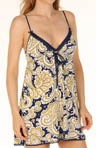 Juicy Couture Modal Paisley Print Chemise 9JMS1337