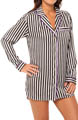 Juicy Couture Dot And Stripe Sleep Shirtdress 9JMS1393