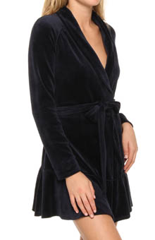 Velour Robe