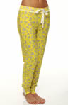 Juicy Couture Modal Jersey Clover Heart Print Pant 9JMS1503