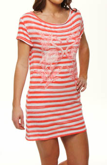 Flamingo Slub Nightie