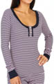 Juicy Couture Cozy Thermal Henley 9JMS1691