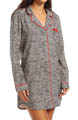 Juicy Couture Fireside Flannel Nightshirt 9JMS1812