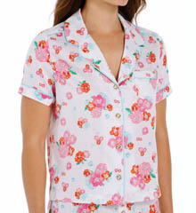 Juicy Couture Confetti Floral PJ Top 9JMS1883