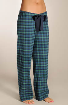 Juicy Couture Flannel Pajama Pant in Blackwatch