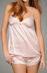 Satin Aline Cami Short Set