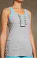 Juicy Couture Pony Dreams Ruffle Front Tank 9JMUS762