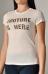 Juicy Couture Couture Is Here Short Sleeve Vintage Tee JG004933
