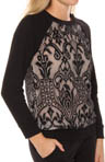 Amalfi French Terry Lace Pullover