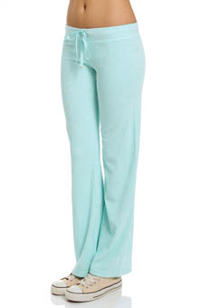 Juicy Couture Terry Basics Original Leg Drawstring Pant JG007731