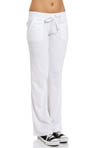 Terry Flared Leg Pant With Snap Pocket Image