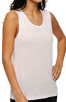 Rayon Muscle Tee with Open Back