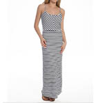 Terry Striped Maxi Dress Image