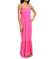 Terry Smocked Maxi Dress Image