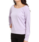Juicy Couture Terry Basics Relaxed Pullover Top JG009314