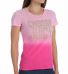 Juicy Couture Choose Juicy Studded Short Sleeve Tee JG009425