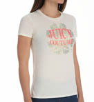 Juicy Couture Terry Flower Burst Short Sleeve Tee JG009431