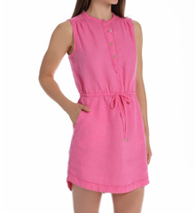 Juicy Couture Linen Henley Dress JG009506
