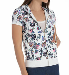 Juicy Couture Costa Blanca Terry Short Sleeve Jacket JG009512