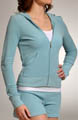 Juicy Couture Terry Basic Long Sleeve Hoodie JGM00028