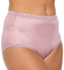 Just My Size Nylon Brief Panties - 4 Pack