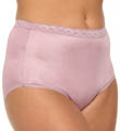 Just My Size Nylon Brief Panties - 4 Pack 0601