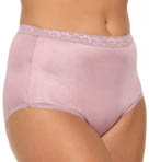 Nylon Brief Panties - 4 Pack