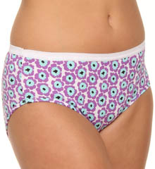 Just My Size Cotton Hipster Panty 5-Pack