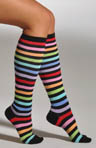 Rainbow Stripe Knee High Socks