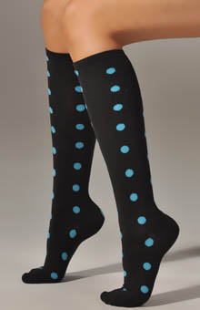 Polka Dot Knee Sock