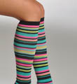 K. Bell Variegated Stripe Knee High Socks 32100