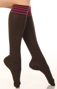 Soft Rain Boot Knee High Sock