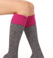 K. Bell Soft & Dreamy Cuff Ribbed Knee High Sock 32122