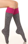 Soft & Dreamy Cuff Ribbed Knee High Sock