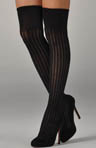 K. Bell Button Trim Over the Knee Socks 875