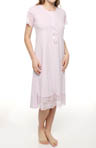 KayAnna Jacquard Jersey Night Gown A11342