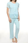 KayAnna Jacquard Jersey PJ Set A15264