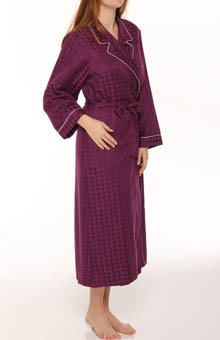 Houndstooth Robe