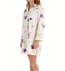 KayAnna Vella Brushed Back Satin Sleepshirt B12357