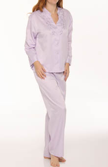 Mandarin Embroidery PJ Set