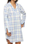 KayAnna Plaids Sleepshirt P12186