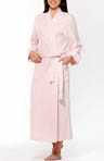 Long Diamond Weave Spa Robe