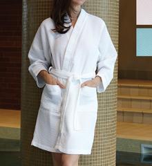 KayAnna Waffle Kimono Robe S08084