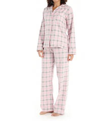 KayAnna Sweet Plaid Flannel PJ Set SP15226
